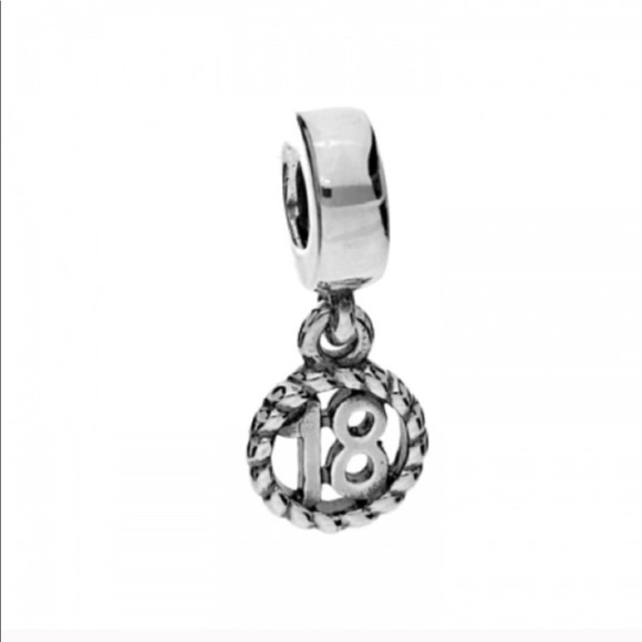 def7d6ed5 Pandora Jewelry | Retired 18 Dangle Charm | Poshmark